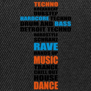 Techno music is my religion. Bags  - Snapback Cap