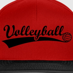 volley-ball féminin volleyball volley Tee shirts - Casquette snapback