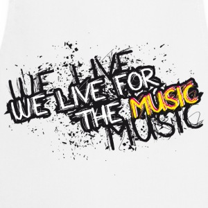 MUSIC T-shirts - Keukenschort
