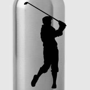 golf Polo Shirts - Water Bottle