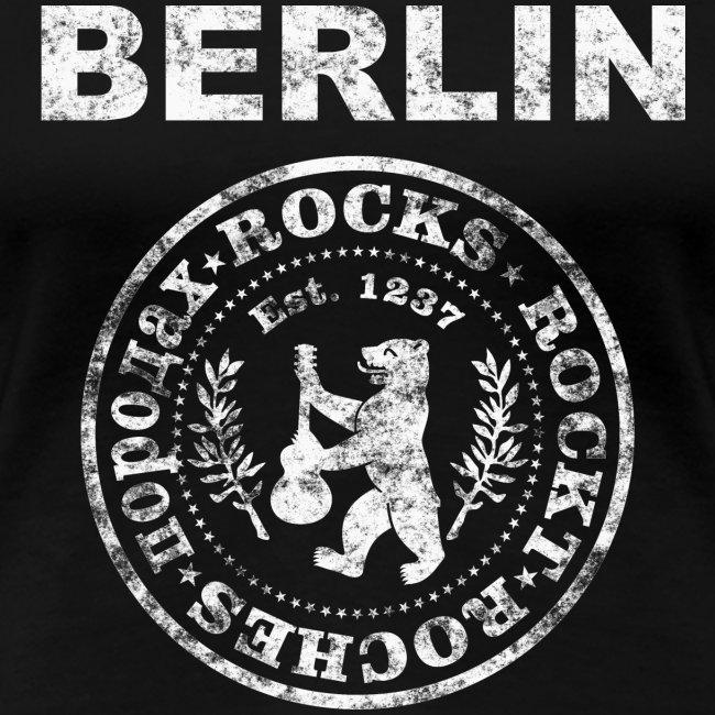 Berlin Rockt Vintage  Männer Shirt