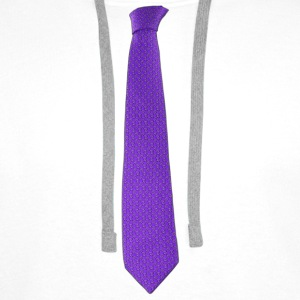 Purple tie Teddies - Men's Premium Hoodie