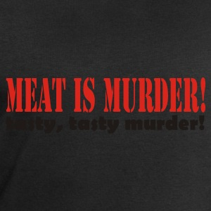 Meat is murder, tasty tasty murder - Men's Sweatshirt by Stanley & Stella