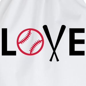 I love Baseball J'aime le base-ball Tee shirts - Sac de sport léger