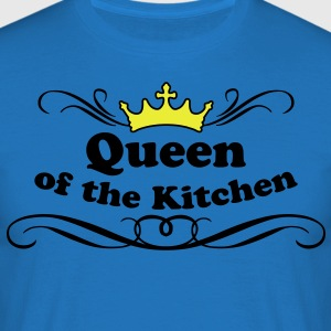 Queen of the Kitchen  Aprons - Men's T-Shirt
