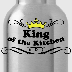 King of the Kitchen  Aprons - Water Bottle
