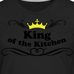 King of the Kitchen Delantales - Camiseta de manga larga premium hombre