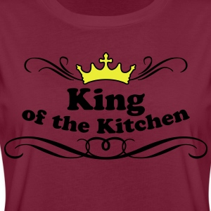 King of the Kitchen Delantales - Camiseta holgada de mujer