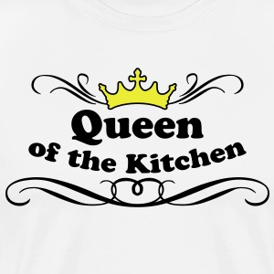 Queen of the Kitchen Forklæder - Herre premium T-shirt