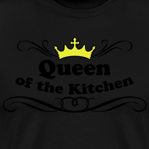 Queen of the Kitchen Delantales - Camiseta premium hombre
