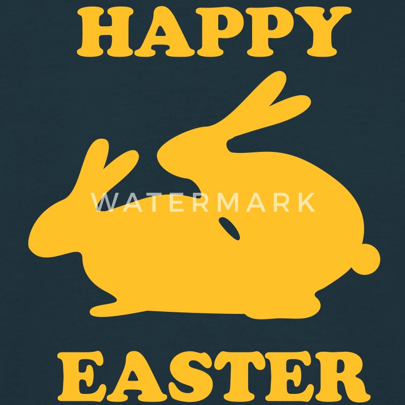 easter bunny T-Shirts - Men's T-Shirt