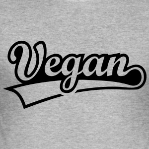 Vegan vegetarian animal welfare Go veggie Go green Hoodies & Sweatshirts - Men's Slim Fit T-Shirt
