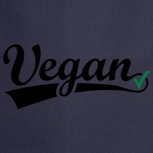 vegan vegetarian animal Welfare Go veggie Go green Bluzy - Fartuch kuchenny