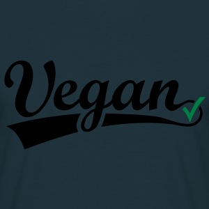vegan vegetarian animal Welfare Go veggie Go green Gensere - T-skjorte for menn