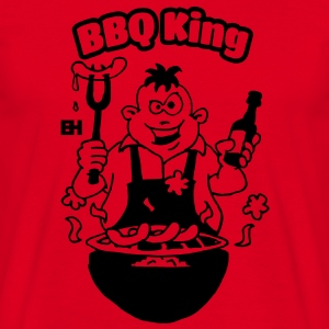 BBQ King Sweatshirts - Herre-T-shirt
