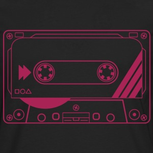 Cassette Tape T-Shirts - Men's Premium Longsleeve Shirt