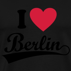 I love Berlin.   Hoodies & Sweatshirts - Men's Premium T-Shirt