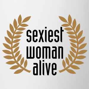 sexiest woman alive T-Shirts - Mugg