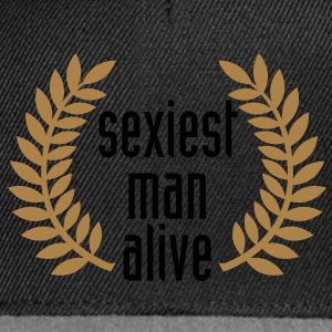 sexiest man alive T-Shirts - Snapback-caps