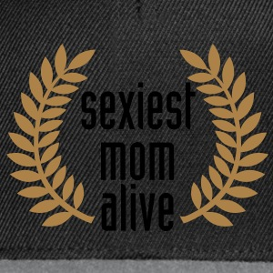 sexiest mom alive T-Shirts - Snapback Cap