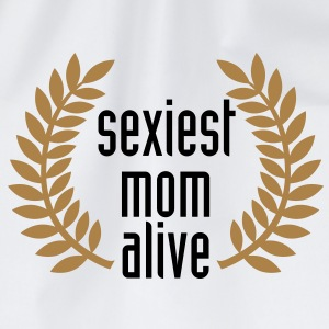sexiest mom alive T-Shirts - Drawstring Bag