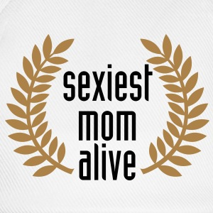 sexiest mom alive T-Shirts - Basebollkeps