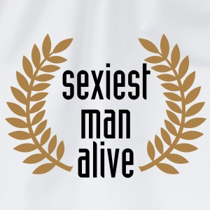 sexiest man alive T-Shirts - Drawstring Bag