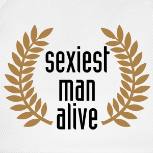 sexiest man alive T-Shirts - Basebollkeps