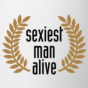 sexiest man alive T-Shirts - Mugg