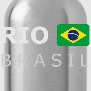 Men's Pullover RIO BRASIL white-lettered - Water Bottle