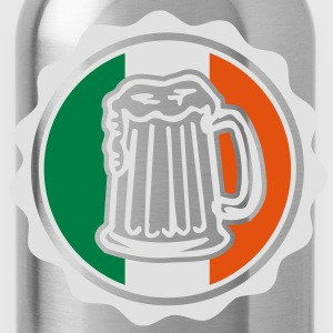 Irish Beer Crest T-Shirts - Water Bottle