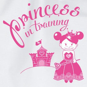 princess in training Bottoni/Spille - Sacca sportiva