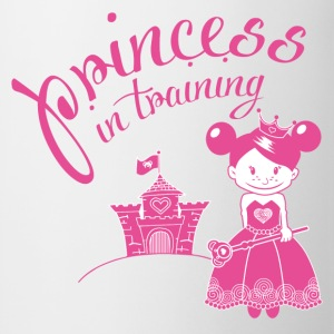 princess in training Bottoni/Spille - Tazza