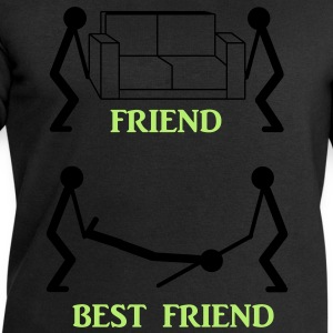 Best Friend T-Shirts - Men's Sweatshirt by Stanley & Stella