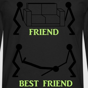 Best Friend T-Shirts - Men's Premium Longsleeve Shirt