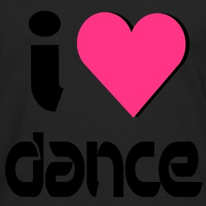 I Heart Dance - Men's Premium Longsleeve Shirt