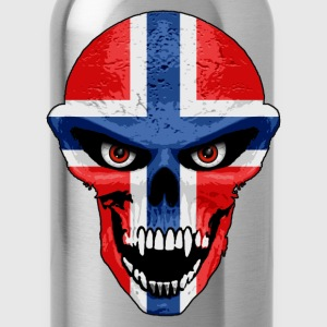 norway skull T-Shirts - Water Bottle