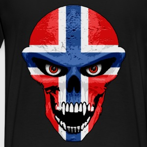 norway skull Hoodies & Sweatshirts - Men's Premium T-Shirt