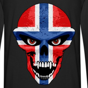 norway skull Hoodies & Sweatshirts - Men's Premium Longsleeve Shirt