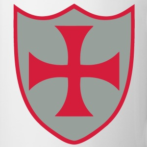 templar cross 2 Tee shirts - Tasse