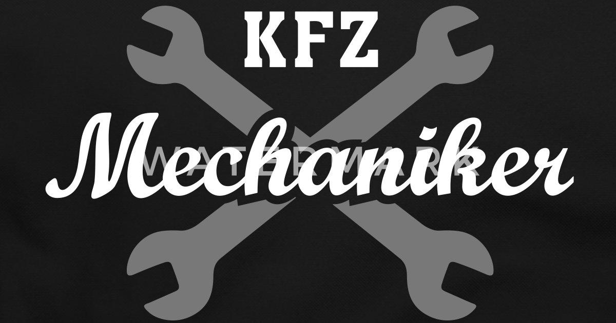 kfz mechaniker tasche spreadshirt. Black Bedroom Furniture Sets. Home Design Ideas
