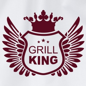 grill_king T-Shirts - Drawstring Bag