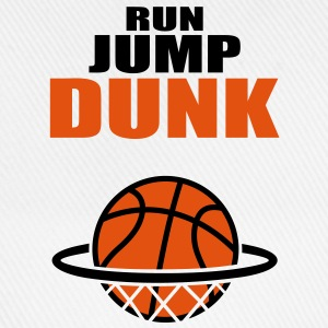 Run Jump Dunk: basketball. Hoodies & Sweatshirts - Baseball Cap