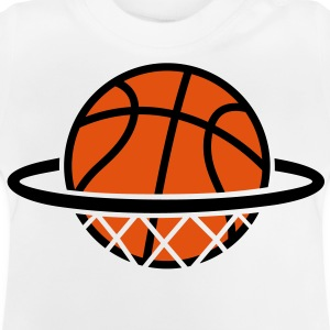 Basket-ball. Basketball panier. Dunk Tee shirts - T-shirt Bébé