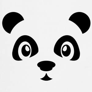 Cute Panda T-shirts - Keukenschort