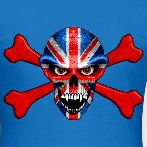 union jack skull Sweat-shirts - T-shirt Femme