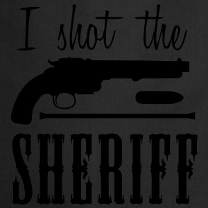 i shot the sheriff T-shirts - Keukenschort