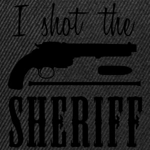 i shot the sheriff T-shirts - Snapback cap