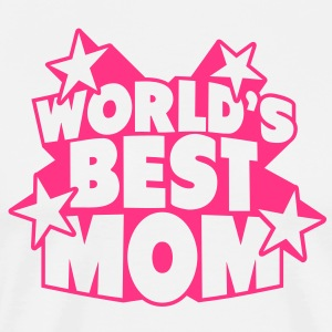 World's best Mom  Aprons - Men's Premium T-Shirt