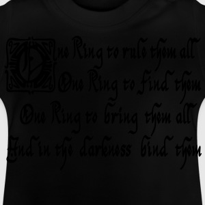 One Ring Sauron Shirts - Baby T-shirt